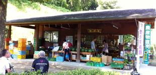 農産物・加工食品直売所「里やま館」のイメージ
